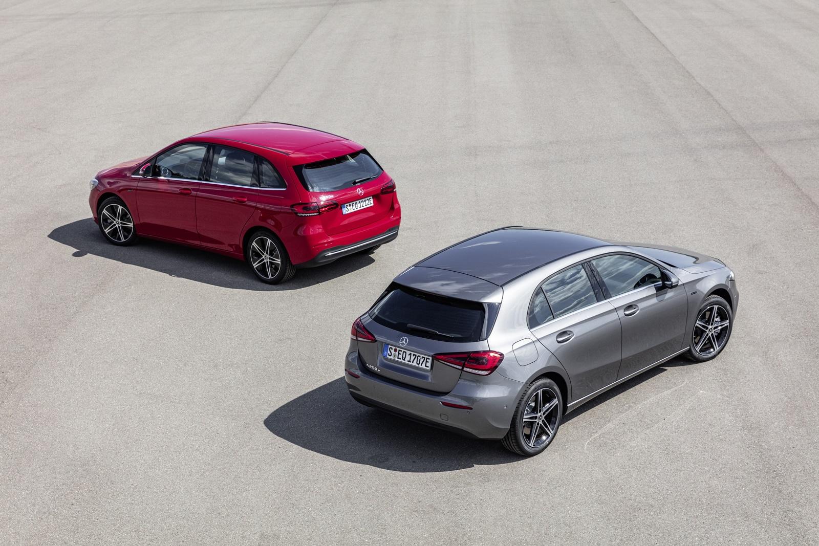 Mercedes-Benz Plug-in-Hybrid A 250 e & Mercedes-Benz Plug-in-Hybrid B 250 e