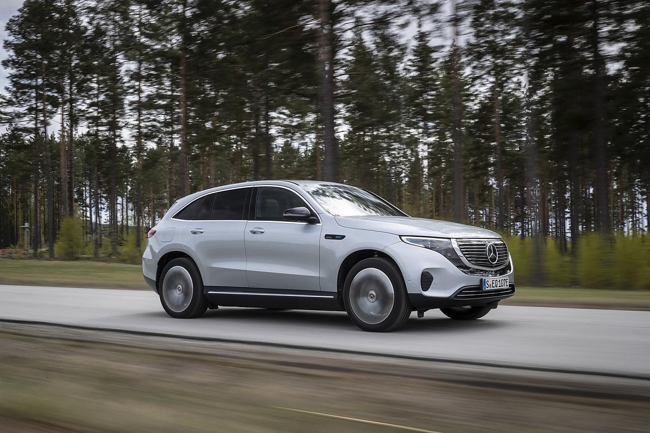 Das Elektro-SUV Mercedes-Benz EQC ist für mehr als 70.000 Euro erhältlich.