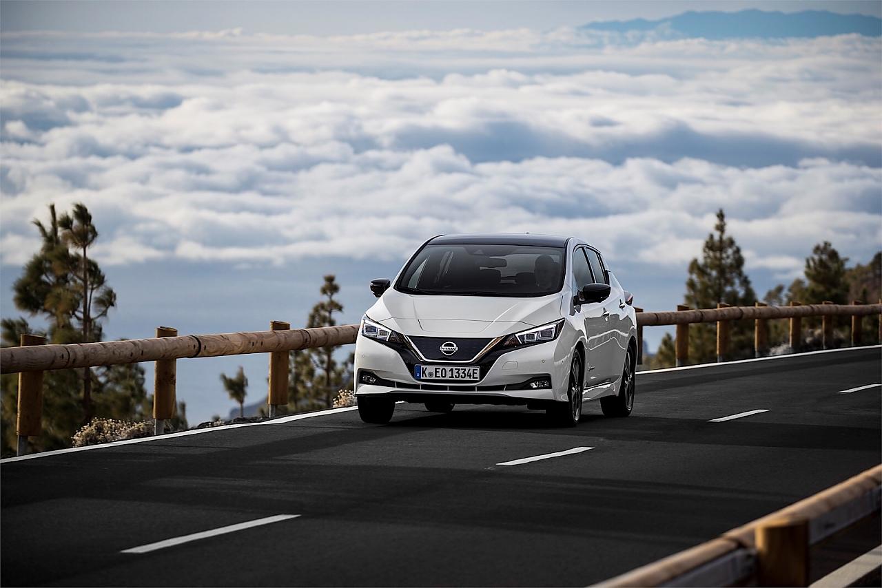 Der Nissan Leaf kostet neu 36.800.