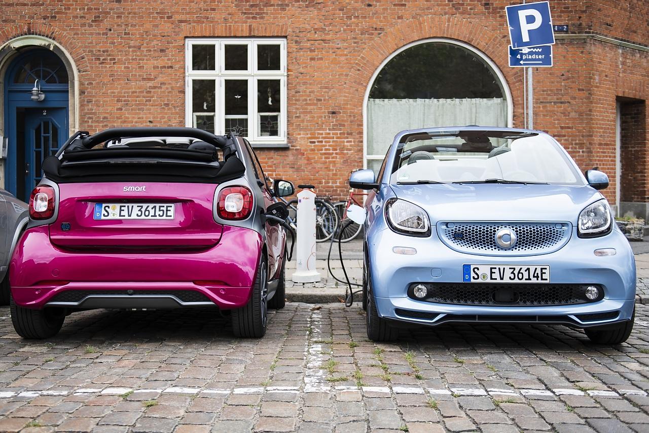 Smart lässt sich seinen elektrischen Fortwo EQ mit mindesten 21.940 Euro bezahlen.