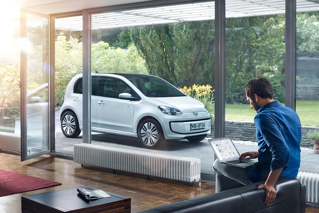 Volkswagen vernetzt den e-up