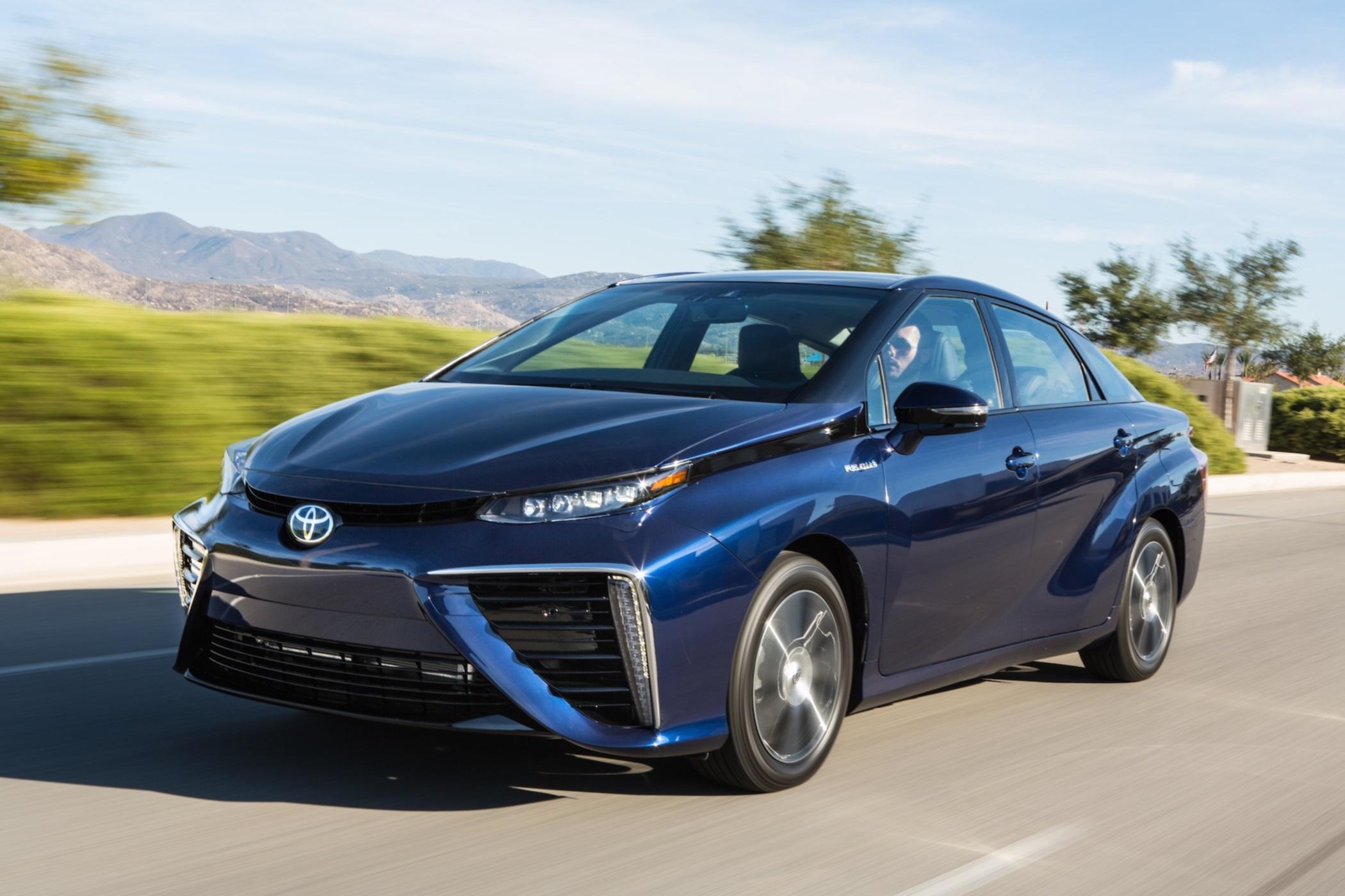 Toyota Mirai Brenstoffzelle Wasserstoff