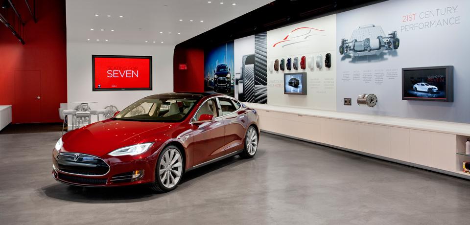 Vertrieb - Tesla Store 3
