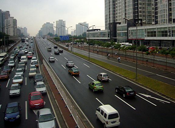 Verkehr China Jerzy Pixelio