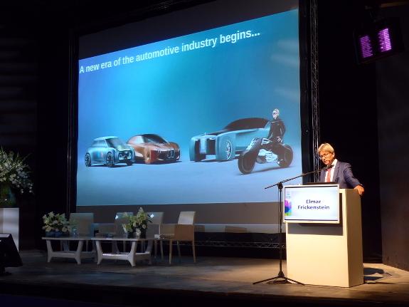 Elmar Frickenstein, Bereichsleiter Vollautomatisiertes Fahren und Fahrerassistenz bei BMW, ist einer der Gäste des Fuel Choices Summit in Tel Aviv. Bild: Daniela Hoffmann