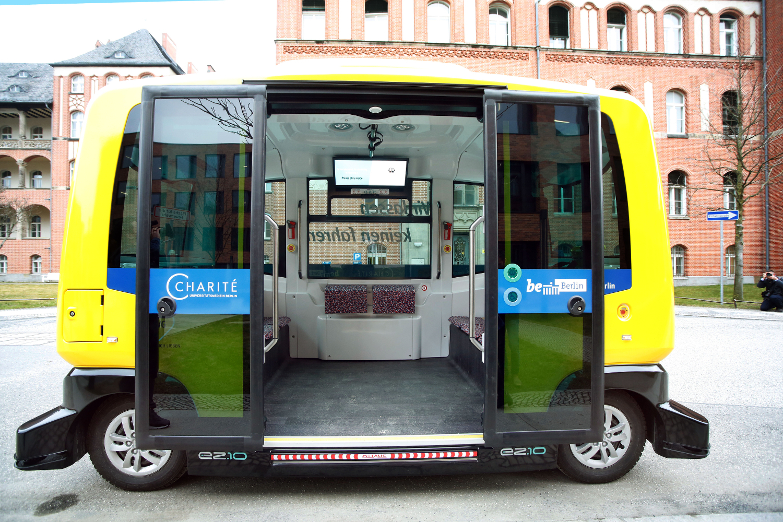 bvg und charit starten autonomen shuttleservice - Bvg Bewerbung