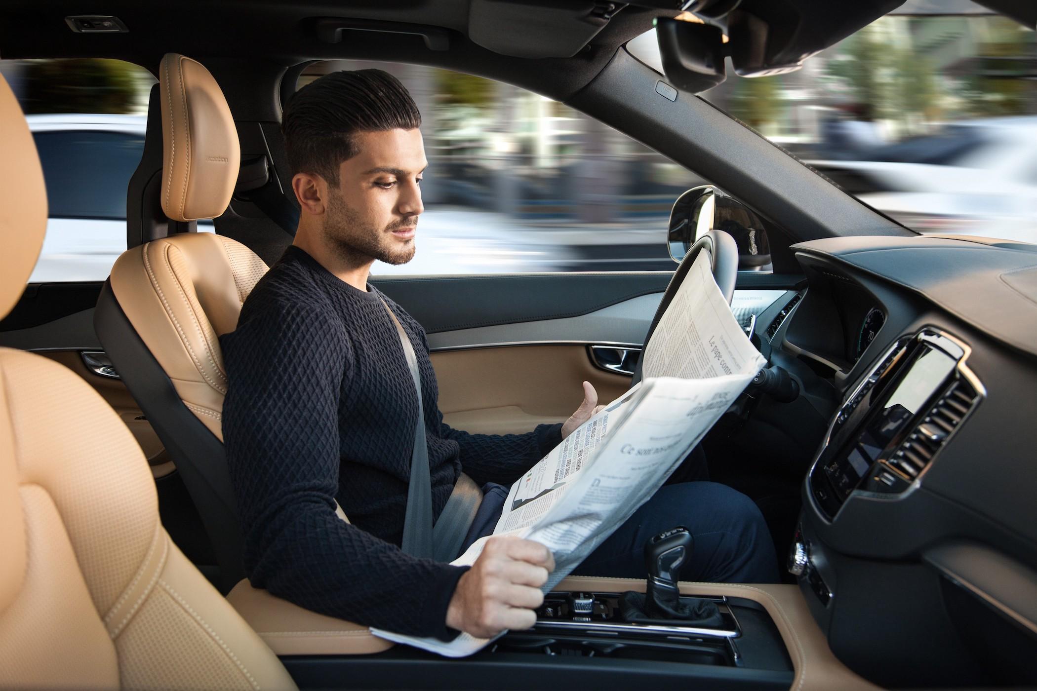 Autonomes Fahren Volvo Interesse