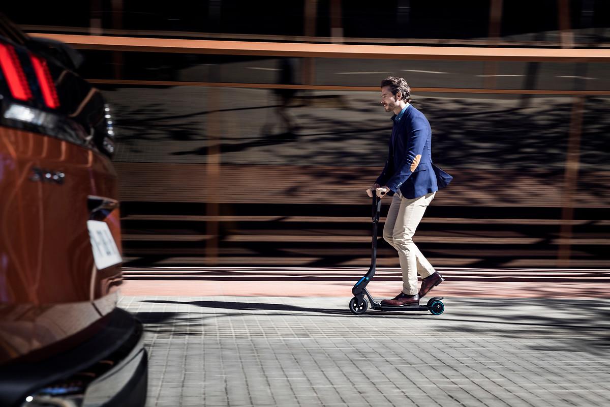 Scooter Roller Mikromobilität