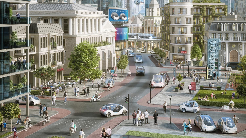 Urbanisierung Shared Mobility Elektromobilität