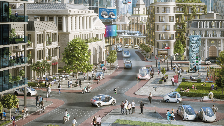 urban, mobility, bosch
