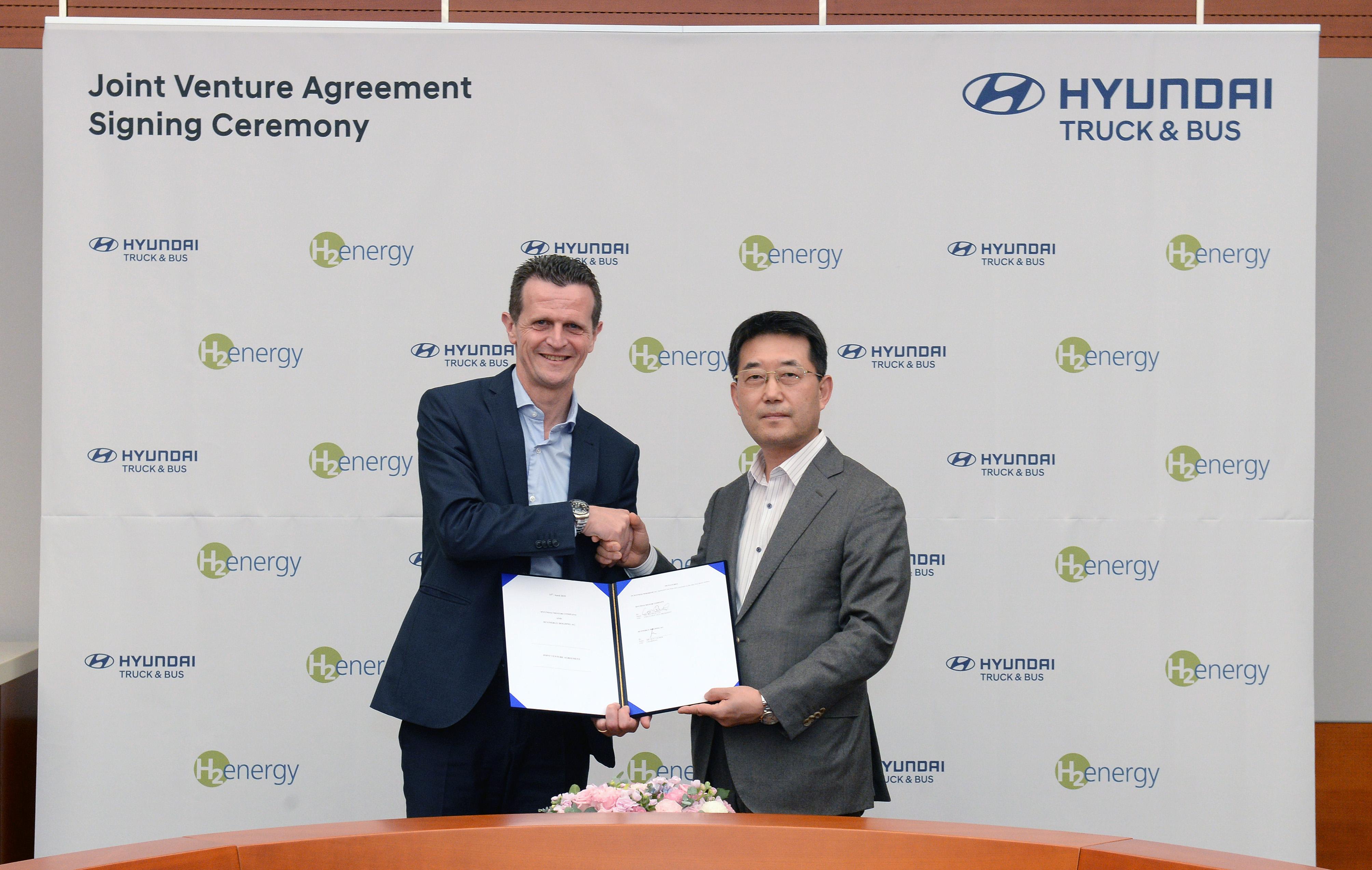 Hyundai forciert Brennstoffzelle in Europa