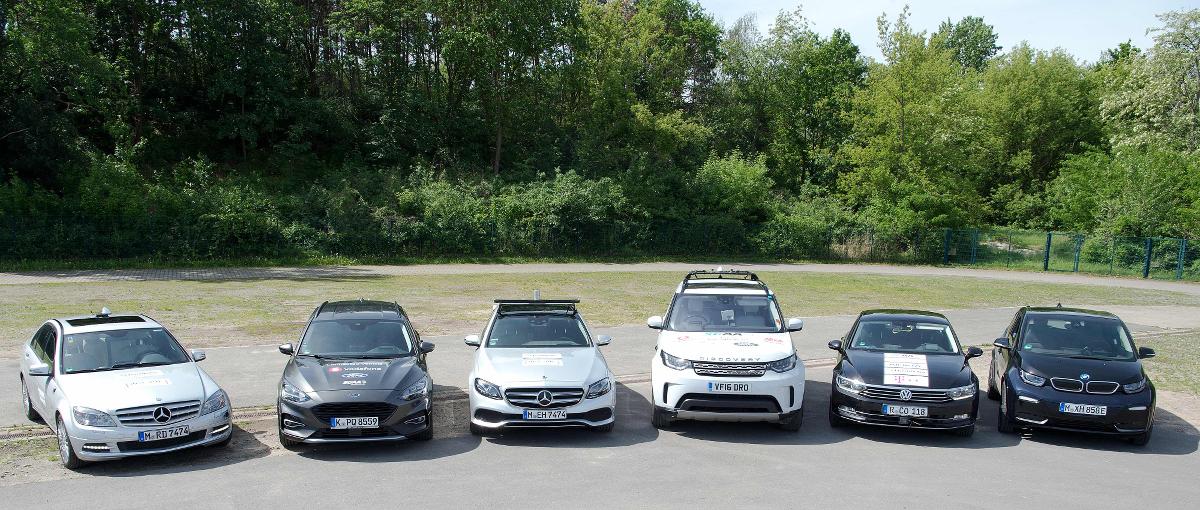 Autos JLR VW Daimler