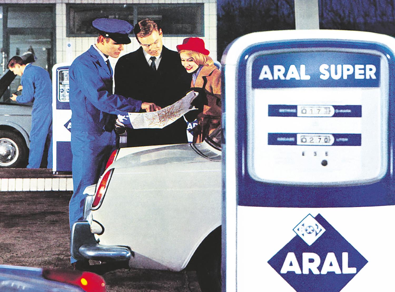 Aral Tankstelle Zukunft Tankwart