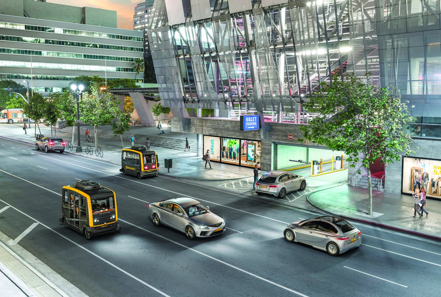 Continental Smart City Mobility People Mover
