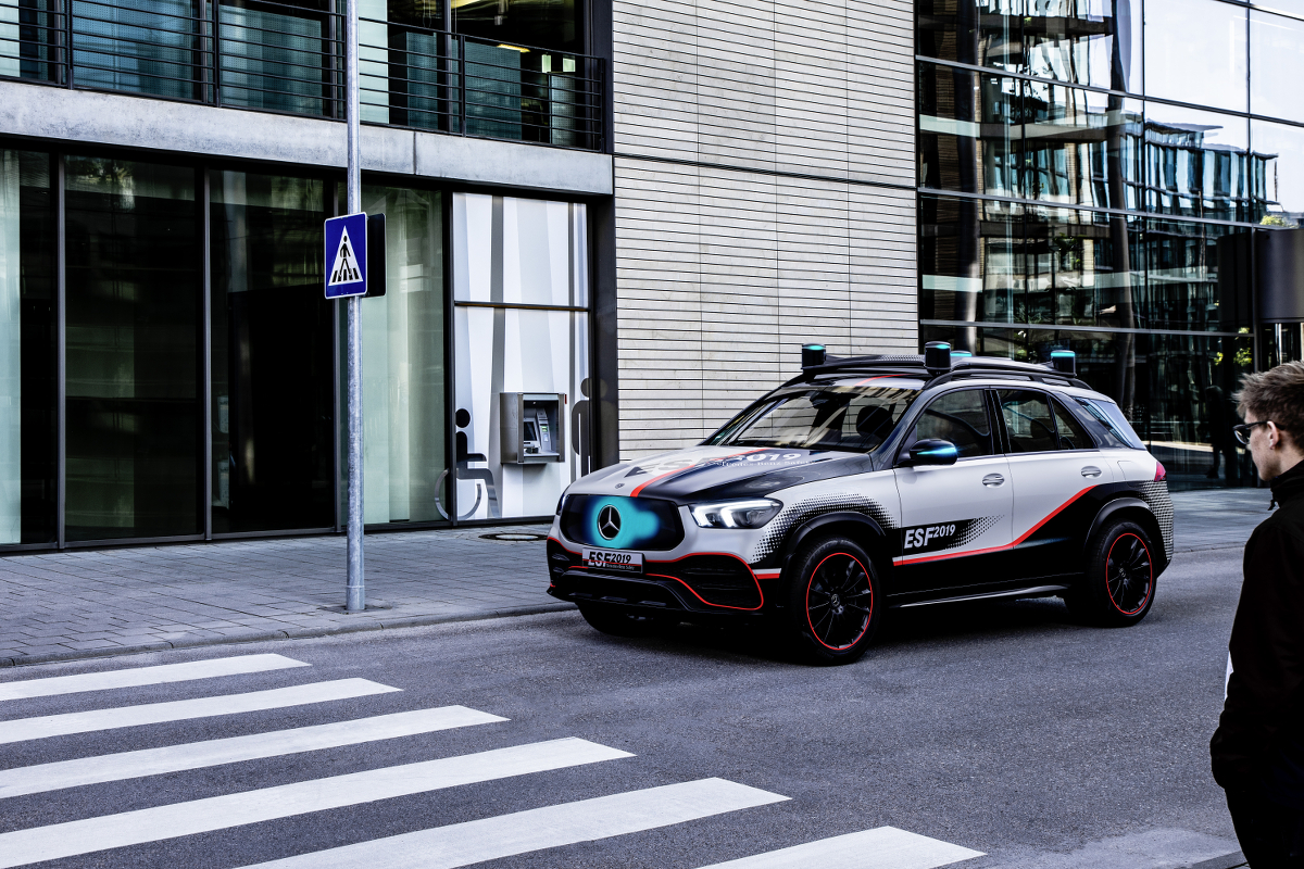 Daimler autonomes Fahren Fahrerassistenz