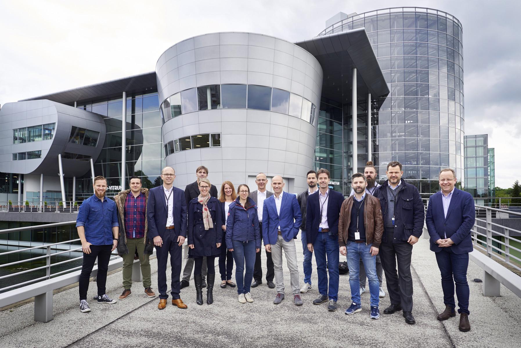 Volkswagen Dresden Gläserne Manufaktur Startups