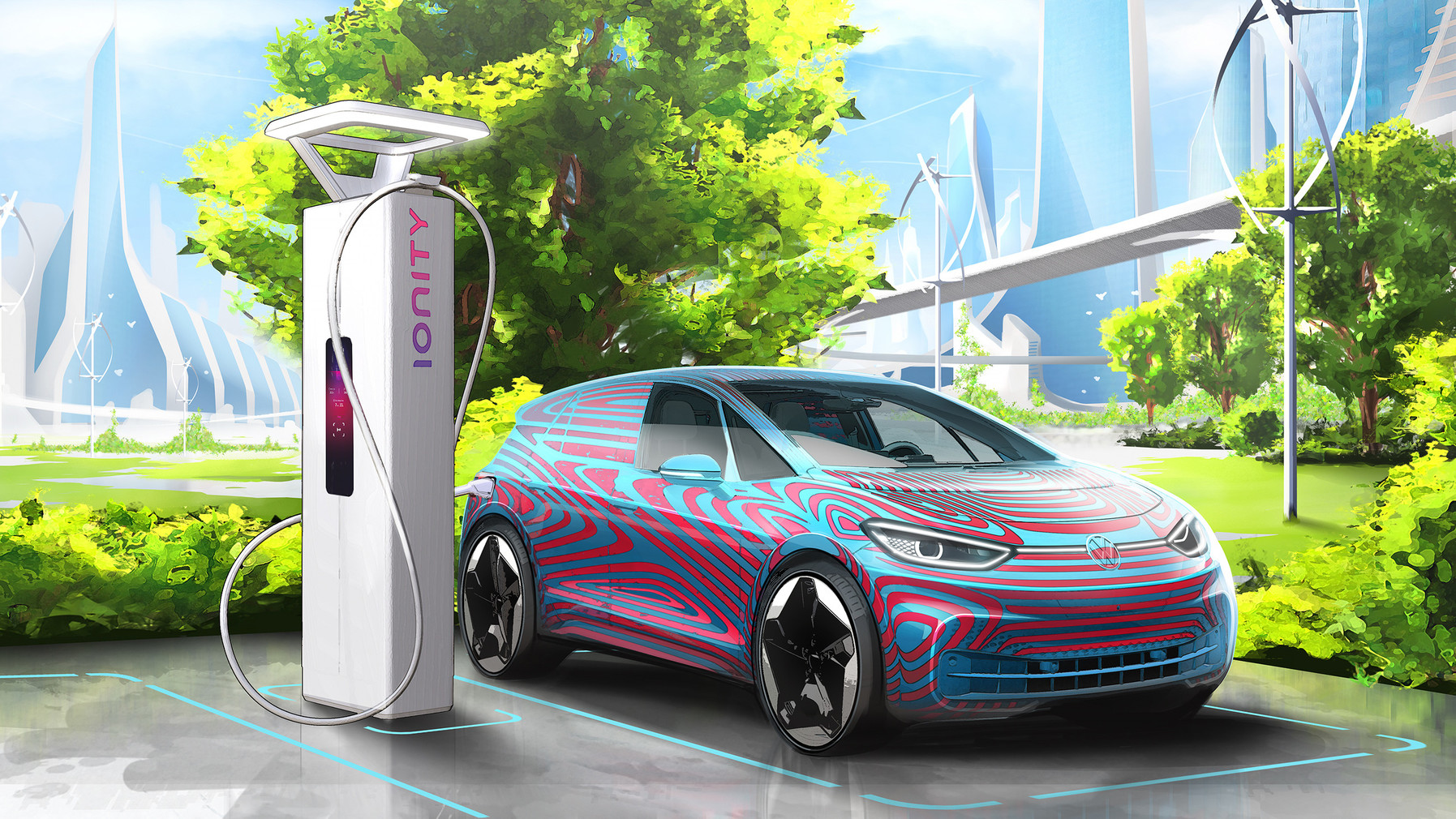 Id3 Volkswagen Ionity E-Mobilität