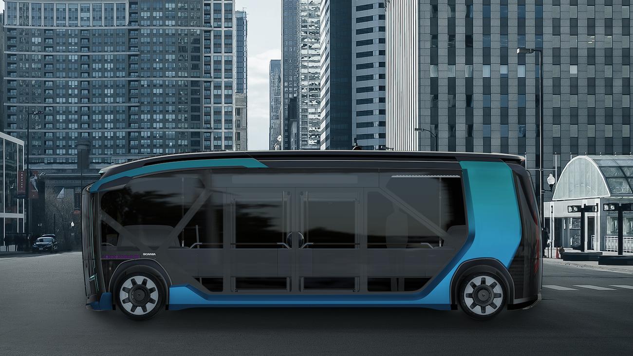 Scania Konzept Modular NXT Mobilität Logistik ÖPNV