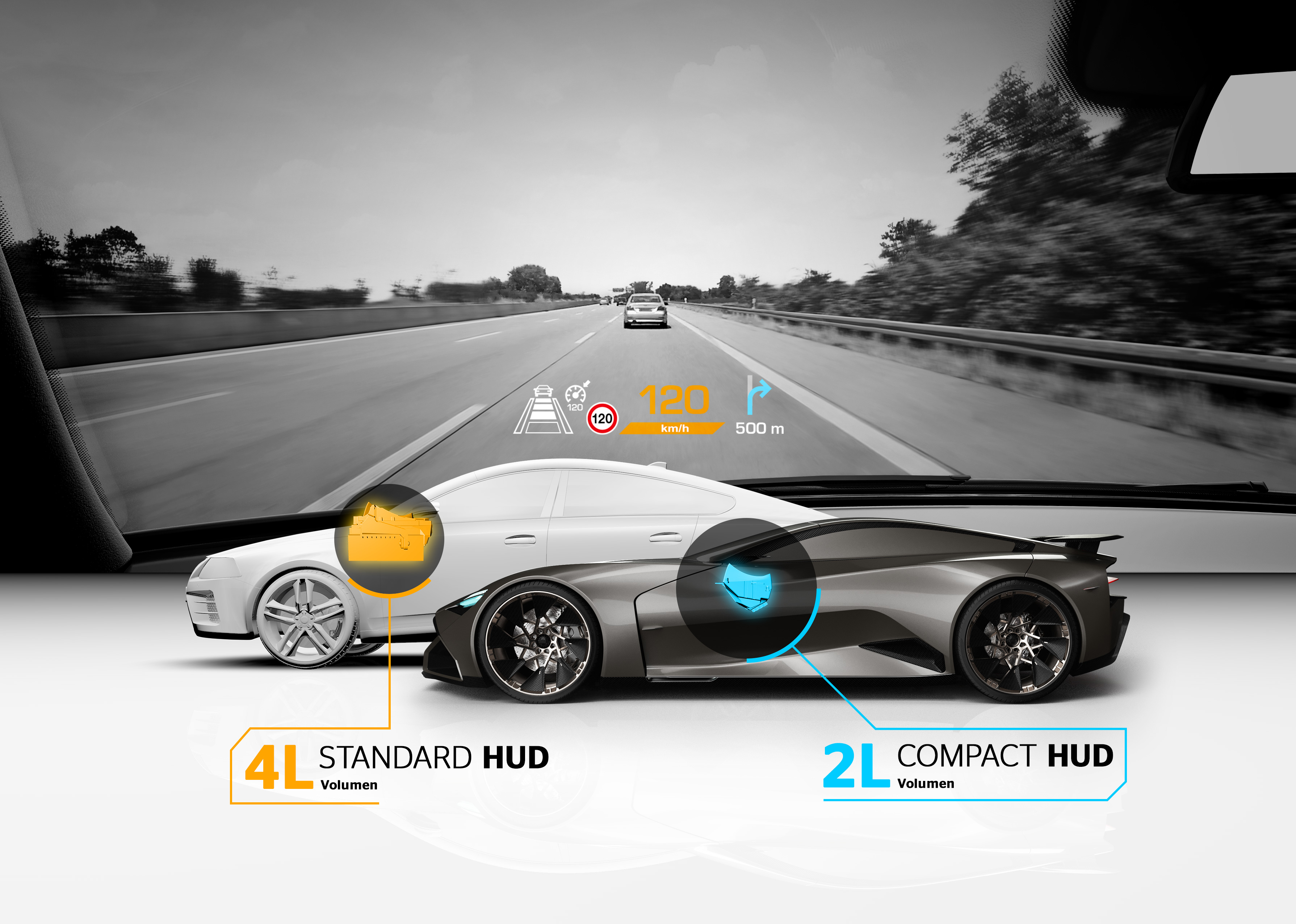 head-up-display, Continental
