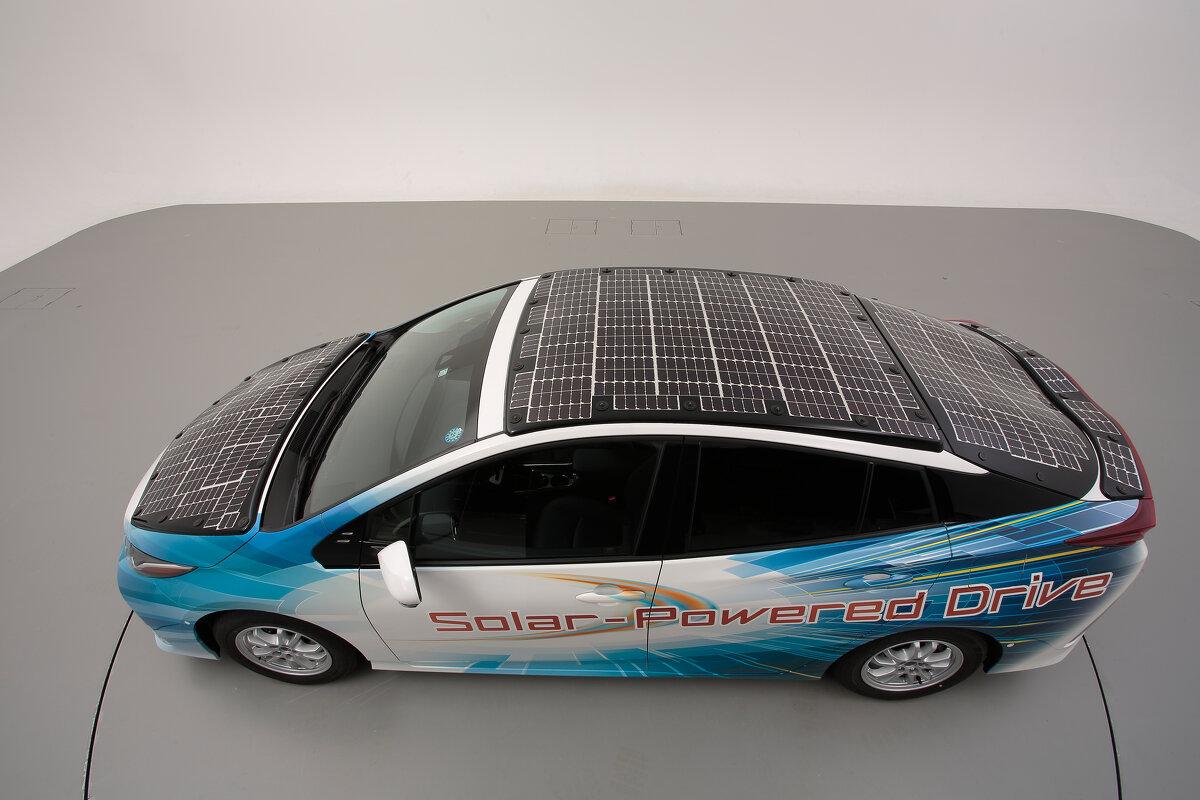 Toyota E-Auto Solar Photovoltaik