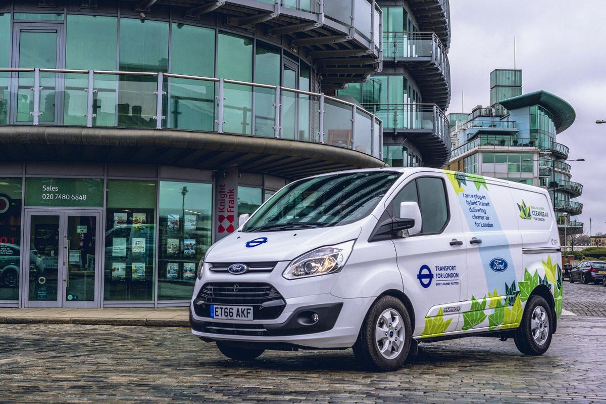 Ford Transit Plugin Hybrid