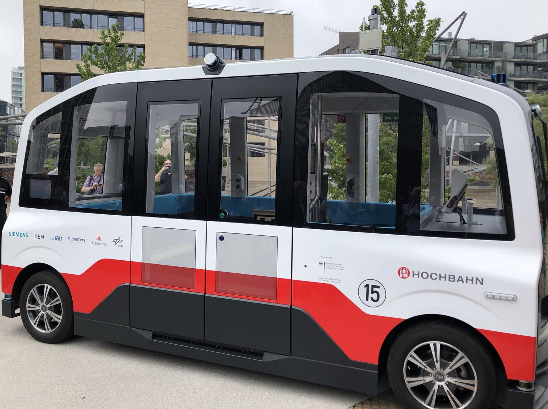 HEAT Hamburg Pilotbetrieb HafenCity Hochbahn IAV Siemens