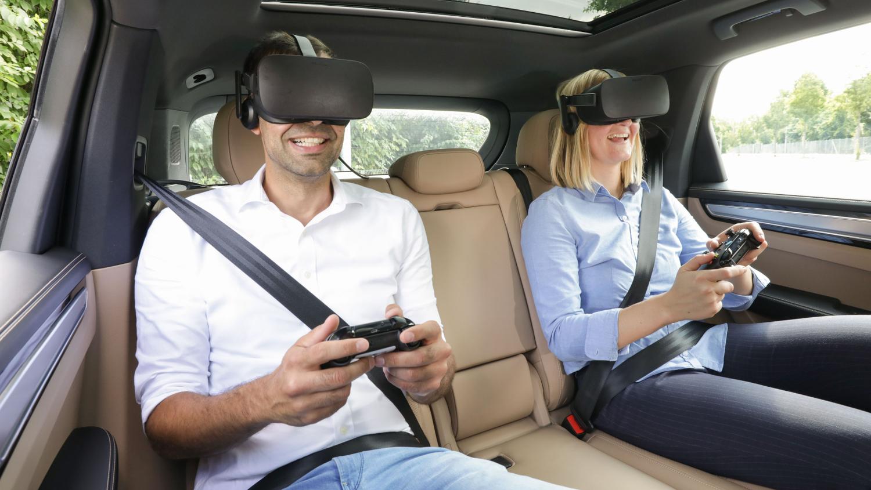 VR Unterhaltung Porsche holoride