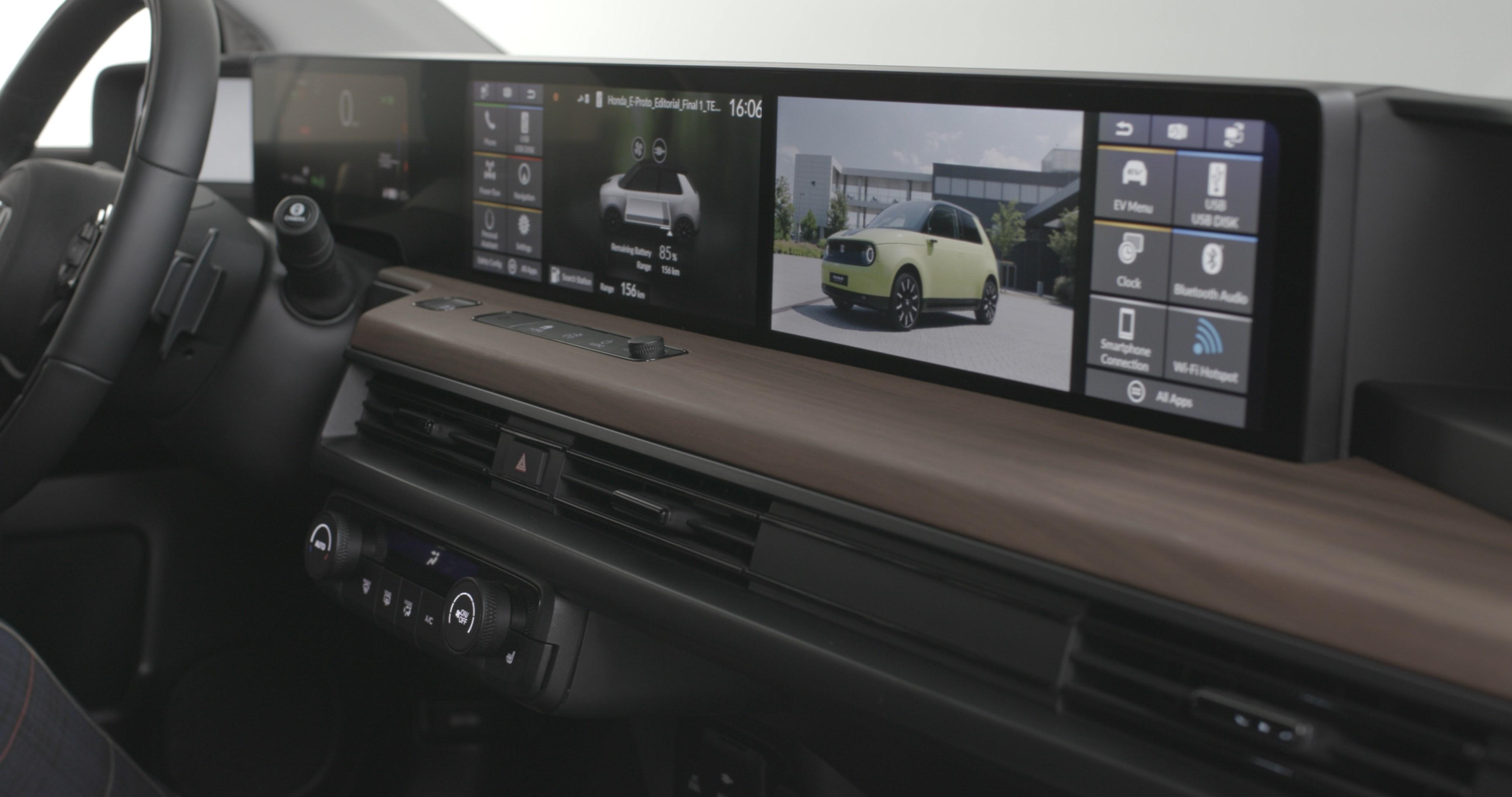 Honda E Infotainment Bedienung