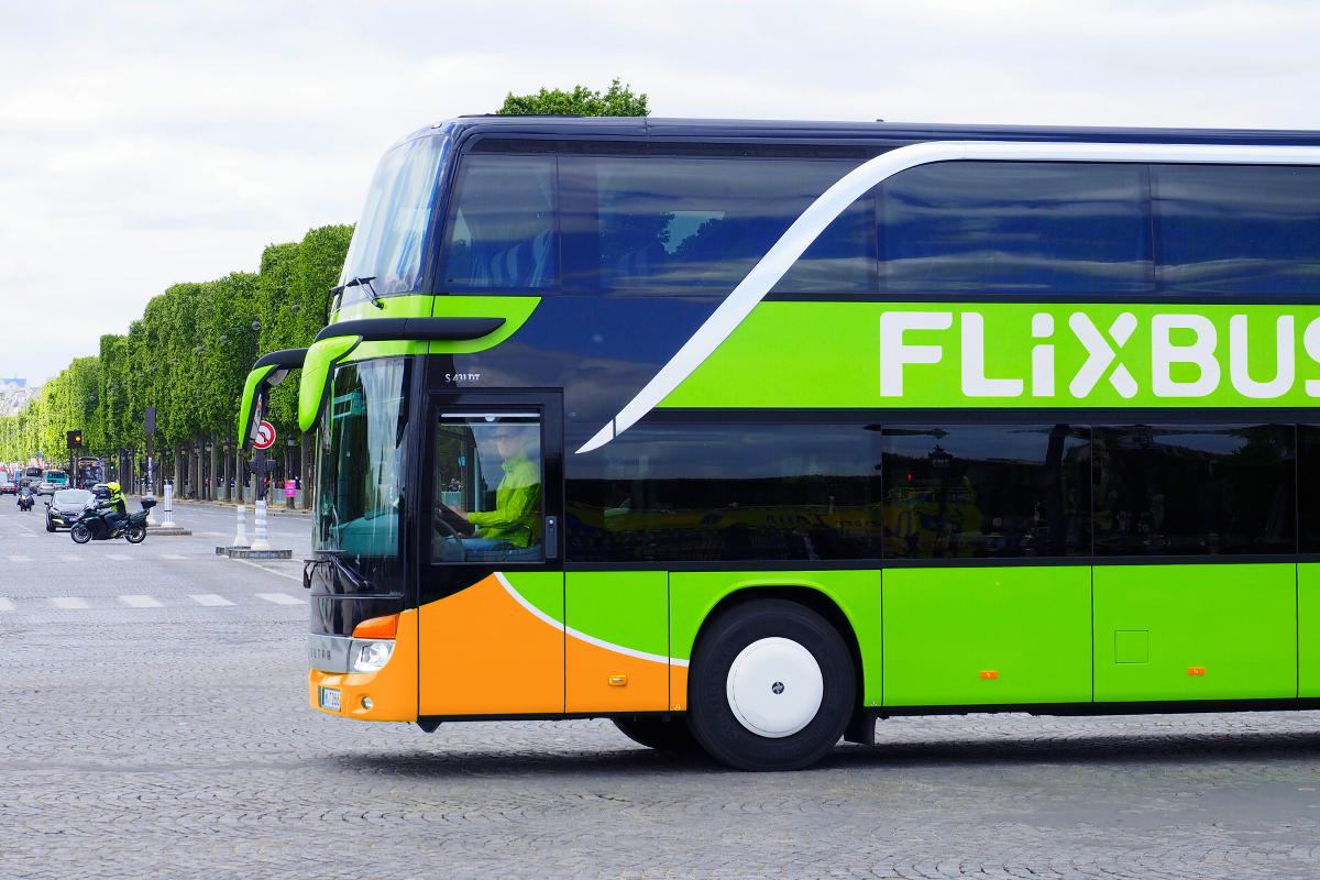 Flixbus Busreise Fernbus