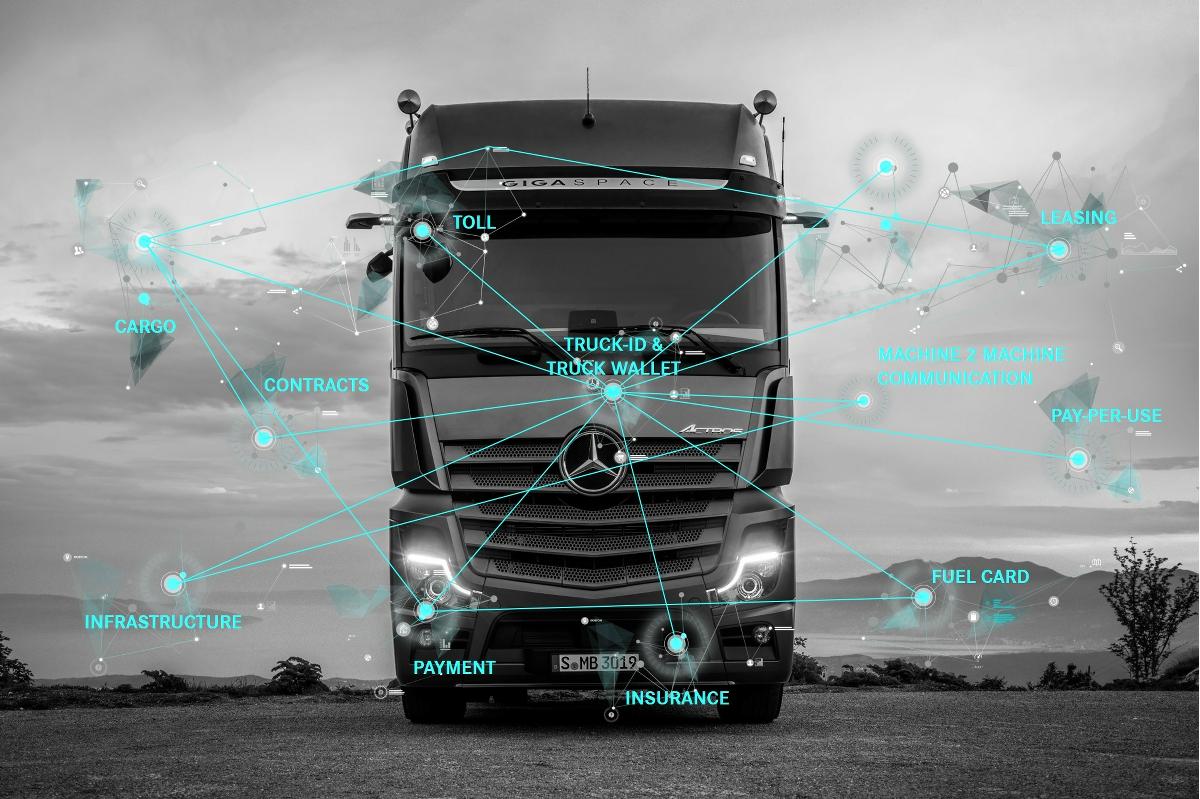 Daimler Truck Wallet E-Payment
