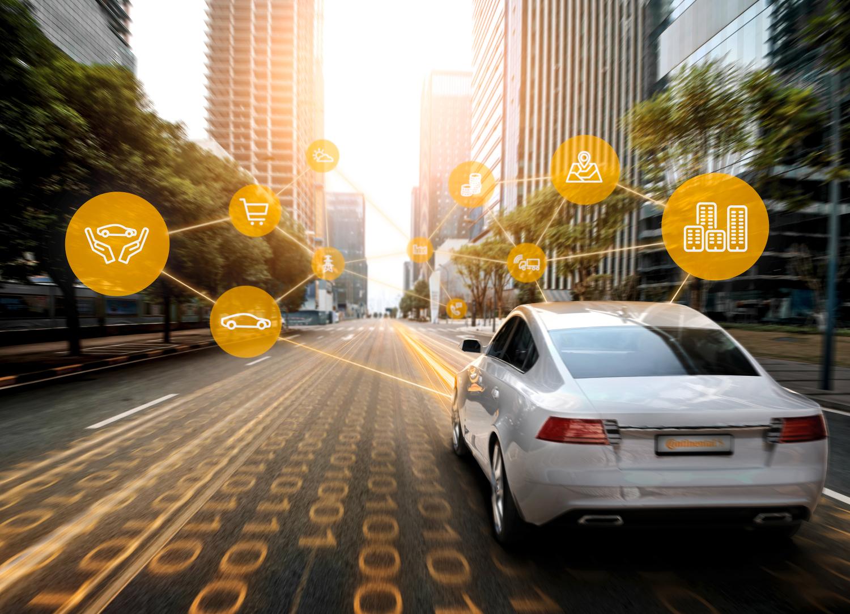 Continental Blockchain Mobilität Datenaustausch