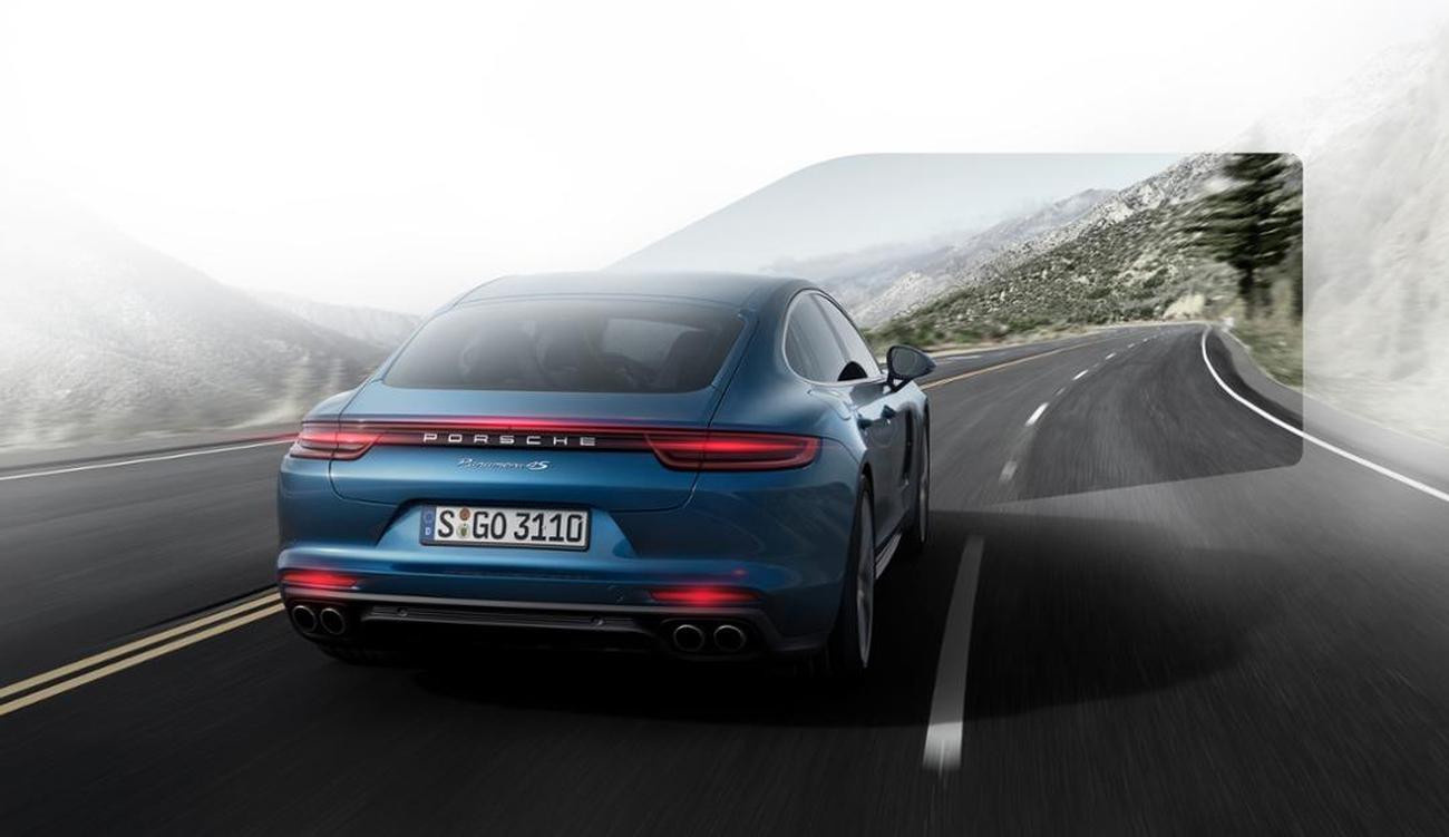 Porsche Startupg Trieye Infrarot