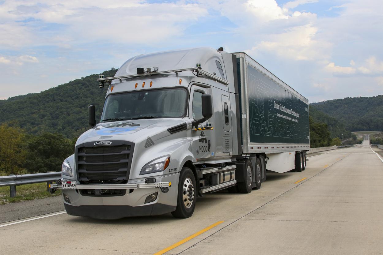 Daimler Lkw Trucks Autonomes Fahren