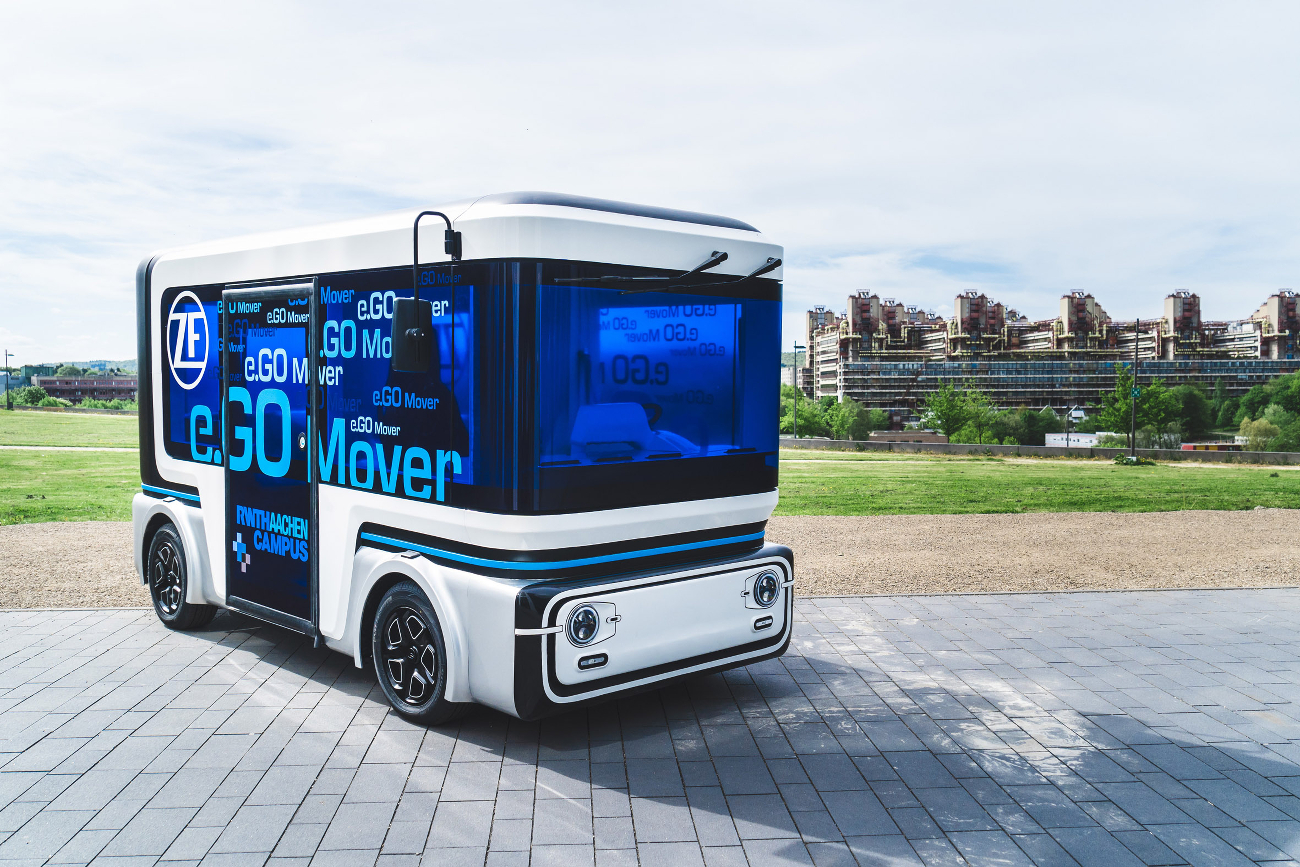 People Mover Entwicklung Autonomes Fahren