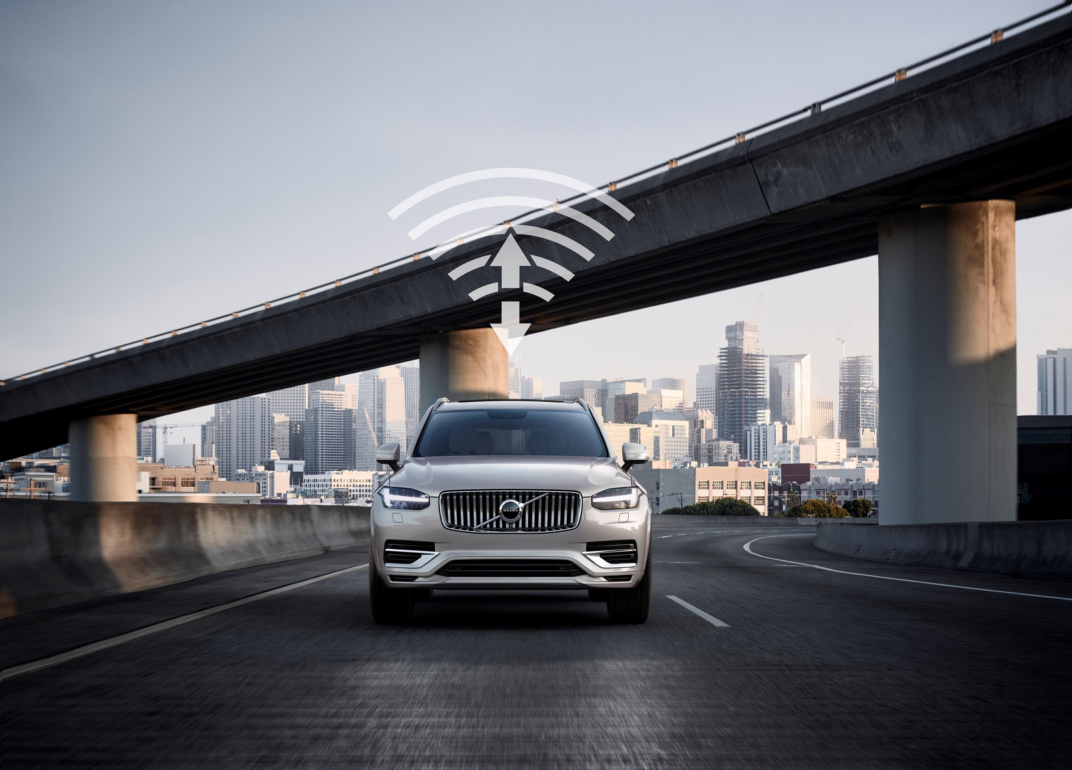 China Unicom unterstützt Volvo bei V2X-Anwendungen