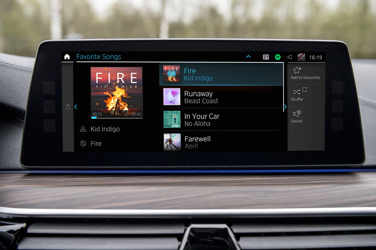 BMW 530e iPerformance Connected Music