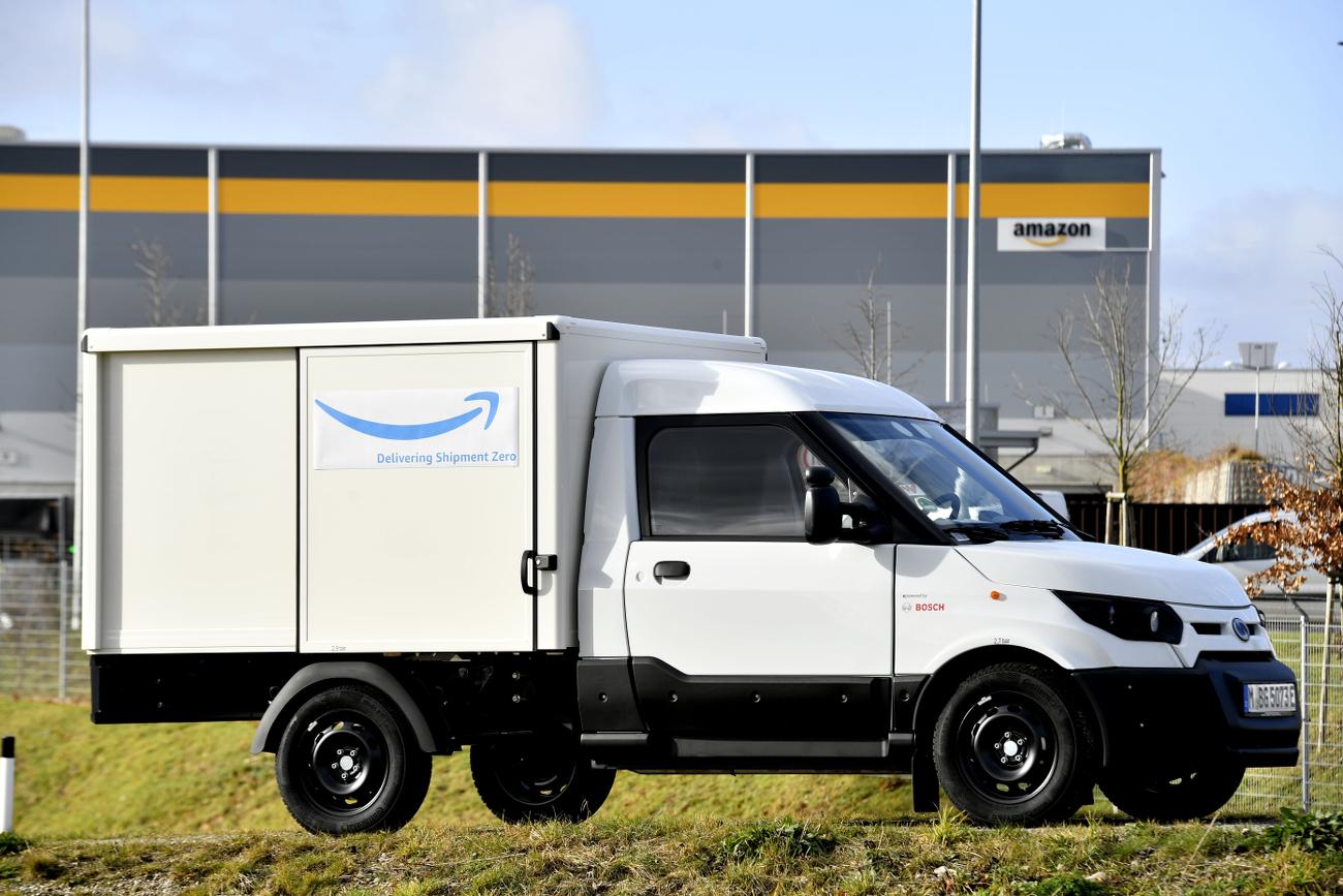 StreetScooter Amazon Logistik Elektromobilität